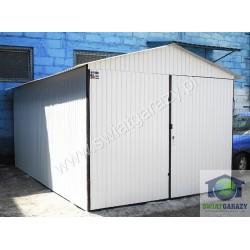 Garaż blaszany 3 x 5 RAL połysk dwuspad