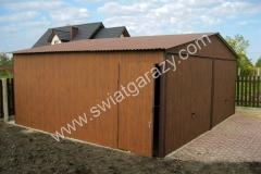 gara-blaszany-dwustanowiskowy-6x5-orzech-imitacja-drewna