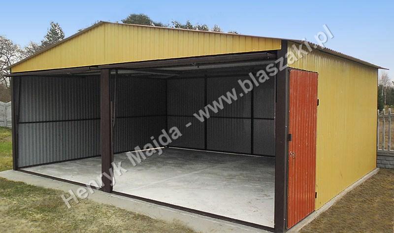 garaż dwustanowiskowy