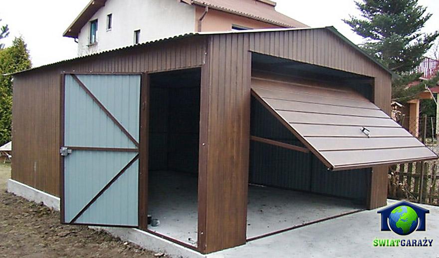 Wspaniały Garaże z szerokim panelem – Garaże blaszane i blaszaki – producent PK11